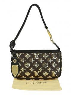 Louis Vuitton Sequin Monogram Eclipse Shoulder Bag