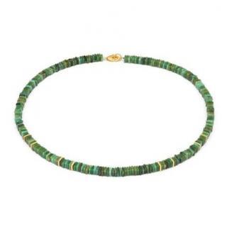 Bernd Wolf Platigo Green Turquoise Necklace