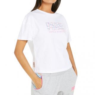 Puma X Sophia Webster Logo T-Shirt.