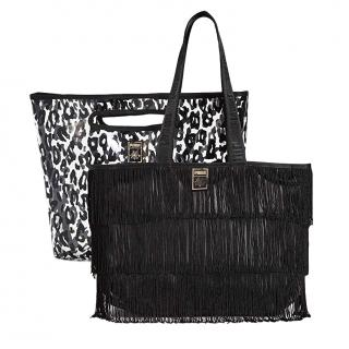 Charlotte Olympia X Puma Leopard PVC 2 In 1 Bag