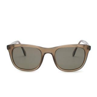 Loro Piana Kids Grey Translucent Sunglasses