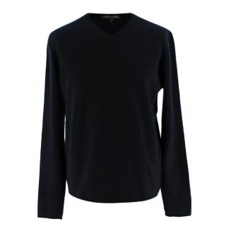 Naked Cashmere Black Cashmere V Neck Sweater
