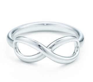 Tiffany & Co. Sterling Silver Infinity Ring