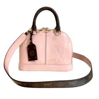 Louis Vuitton Vernis Lisse Alma Bag in Rose Ballerine/Monogram