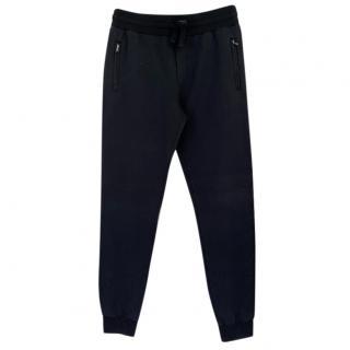 Dolce & Gabbana mens navy blue joggers