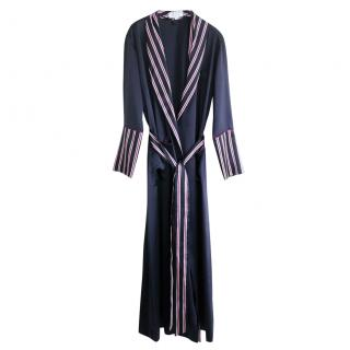 Olivia Von Halle x Net-A-Porter Limited Edition Navy Robe