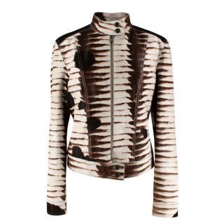 Fendi Selleria Numbered Edition Pony Hair Jacket