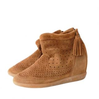 Isabel Marant basley wedge ankle boots