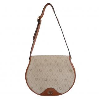 Christian Dior Vintage Honeycomb Monogram Crossbody Bag