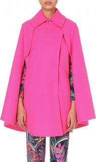 Emilio Pucci Virgin Wool Pink Cape