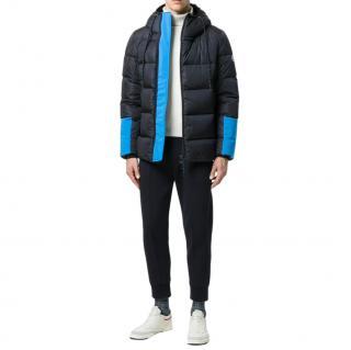 Moncler Drake contrast-panel down jacket