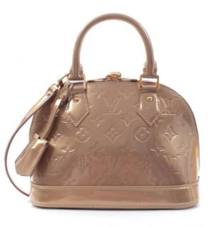 Louis Vuitton Monogram Vernis Alma BB Bag