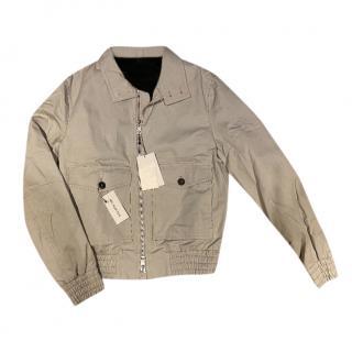 Ami Grey Lightweight Bomber Jacket