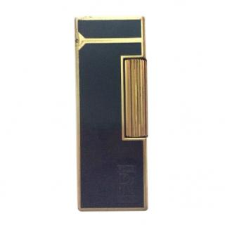 Dunhill Vintage Black & Gold Lighter