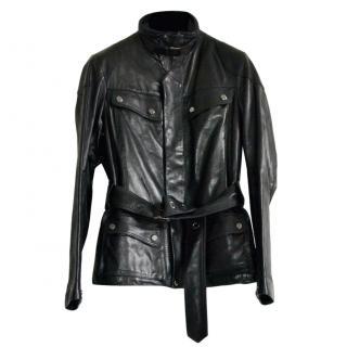 Ralph Lauren Black Label Leather Biker Jacket