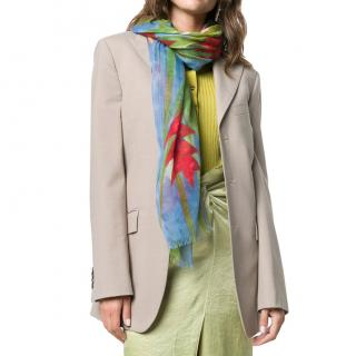 Patek Philippe Limited Edition Floral Print Cashmere Shawl