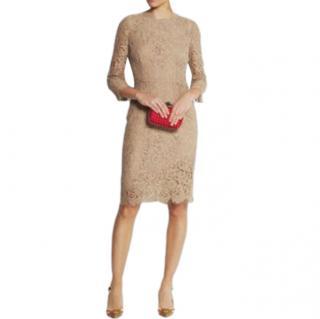 Dolce & Gabbana Lace Scalloped Dress