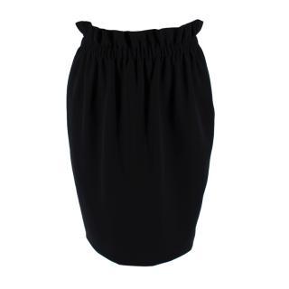 Moschino Black Ruffled Skirt