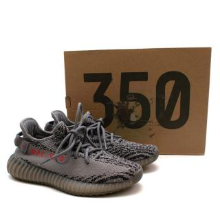 Yeezy Adidas Grey Boost 350 V2 Trainers
