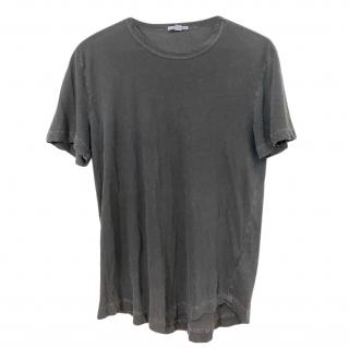 James Perse Grey Washed T-Shirt