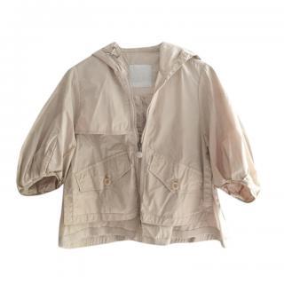 Moncler Beige Rain Jacket