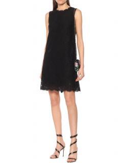 Dolce & Gabbana Black Sleeveless Mini Dress
