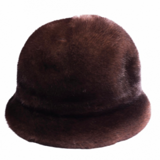 FurbySD Brown Mink Fur Hat