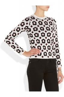 J W Anderson Floral Cashmere & Merino Wool Jumper