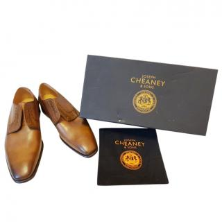 Joseph Cheaney Mahogany Lace-Up Derbies