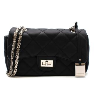 Catherine Malandrino Black Quilted Shoulder Bag