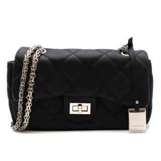 Catherine Malandrino Black Quilted Shoulder Bag