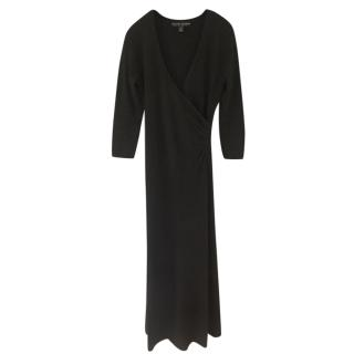 Ralph Lauren Black Label Cashmere Black Gown
