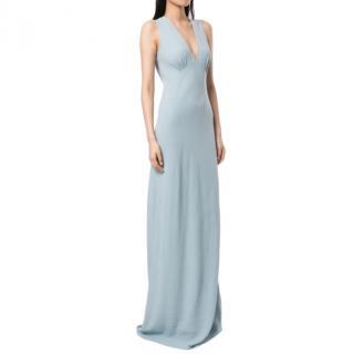 Jenny Packham Pale Blue Silk Slip Dress