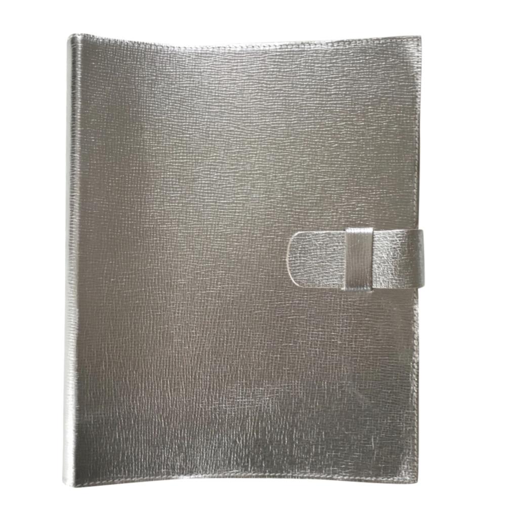 Pratesi Grained Leather Silver Photograph Album
