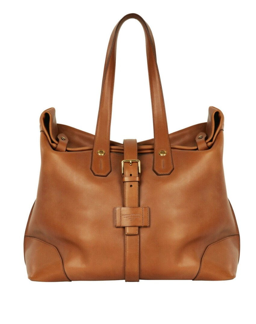 Dunhill Duke Tan Roll Top Leather Audley Weekend