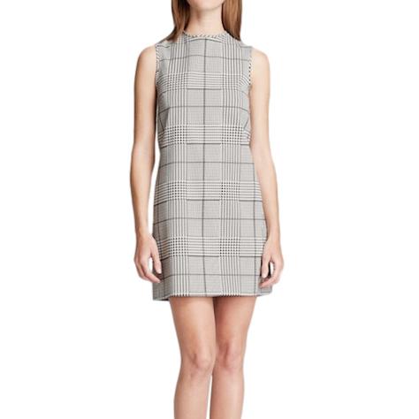 Theory Sleeveless Prince De Gall Mini Dress