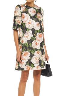 Dolce & Gabbana Floral Print Mini Shift Dress