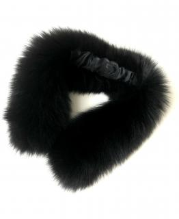 FurbySD Black Fox Fur Collar