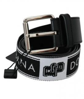 Dolce & Gabbana men's stripped belt