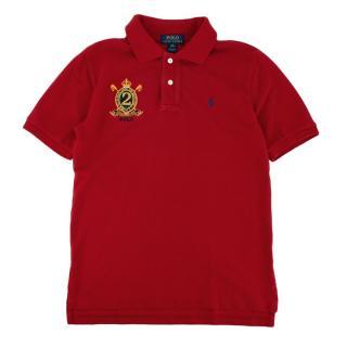 Polo Ralph Lauren Red Short Sleeve Polo Shirt