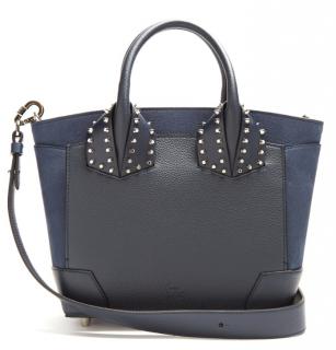 Christian Louboutin Blue Eloise Leather Tote Bag
