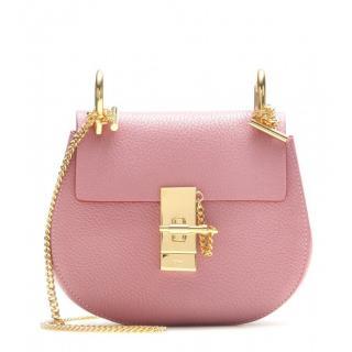Chloe Candy Pink Drew Crossbody Bag
