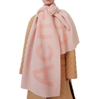 Acne Studios Toronty Giant Scarf in Powder Pink