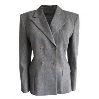 Christian Dior Grey Vintage Tailored Jacket