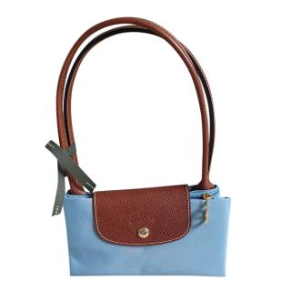 Longchamp Blue Small Le Pliage Bag