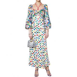 Rixo Gio Micro Tulip Dress