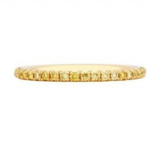 De Beers 18kt Yellow Gold Aura Yellow Diamond Ring