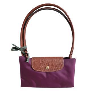 Lonchamp Prune Large Le Pliage Bag