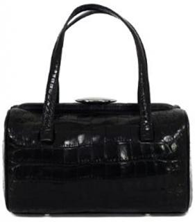 Lulu Guinness Mary Mock Croc Handbag