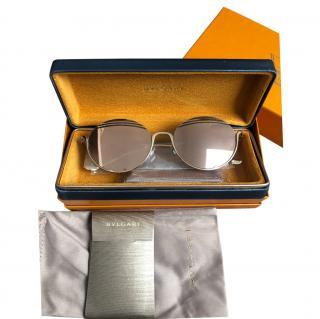 Bvlgari B.zero1 B.Stripe Mirrored Sunglasses